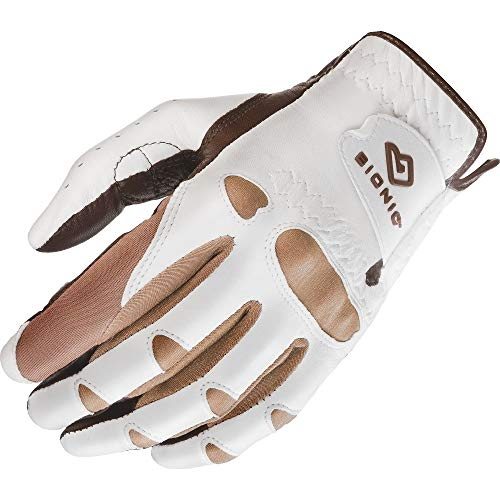 Bionic GGNTWLM Women's StableGrip with Natural Fit Truffle Golf Glove, Left Hand, Medium