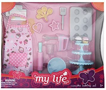 My Life As Cupcake Baking Set 18 Doll Set By Walmart By Walmart