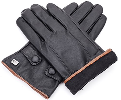 Luxury Dress Napa Leather Winter Gloves - Texting - Touchscreen – Cold  Weather - Driving – 741da3876
