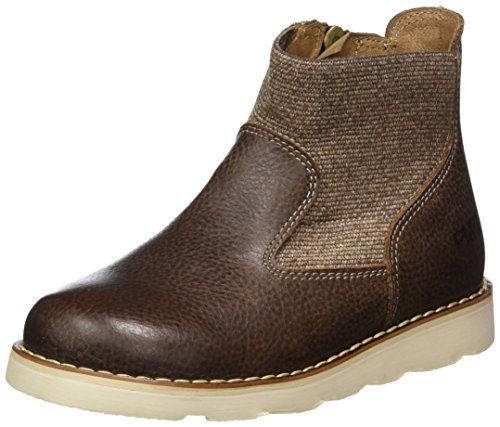 Primigi Boys' Pte 8107 Hi-Top Short Boots, Brown (Marrone), 13 UK by Primigi