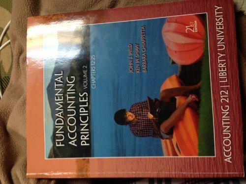 Fundamental Accounting Principles (Liberty University) (Paperback)