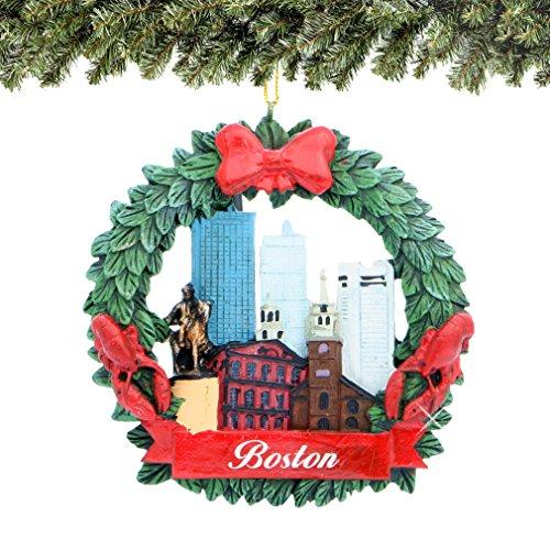 Boston Christmas Ornaments - 2