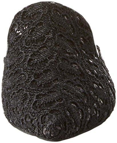 Claes Punta Jeffrey Donna Black Sandali Lace Nero Chiusa Campbell fabric 6xIqq5HSP
