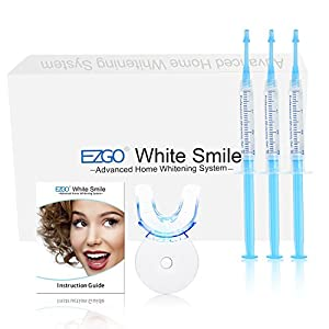 With the EZGO Teeth Whitening Kit, you can get noticeable results after 1 treatment in just 30 minutes per day. Once you experience our teeth whitening kit, you'll never go back to store-bought brands or unpleasant dentist visits. Quality Assured: We...
