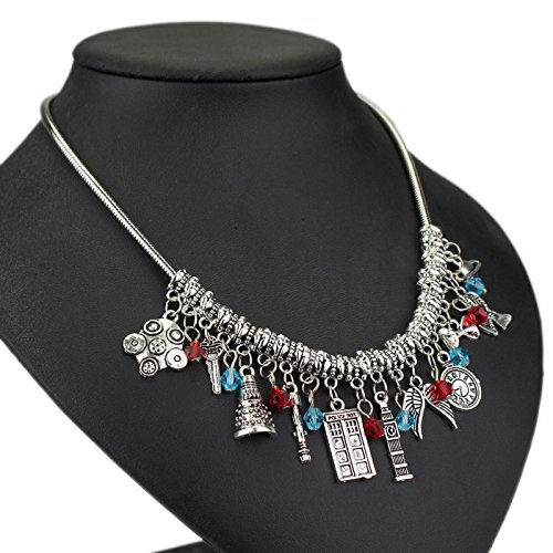 Charm nc015 Accessorisingg Different Who Necklace Doctor q7tPtXS