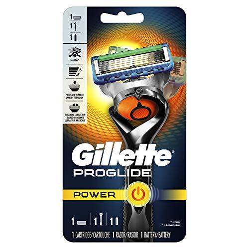Gillette Fusion5 ProGlide Power Men's Razor Handle + 1 Refill + 1 Battery