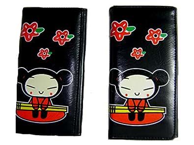 Pucca Long Bi-fold Wallet Set of Two