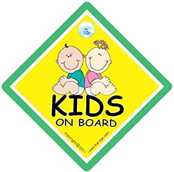 Amazon.com: Bebé iwantthatsign. com Kid s on board, Kid s ...