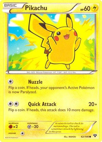 Pokemon - Pikachu (42/146) - XY