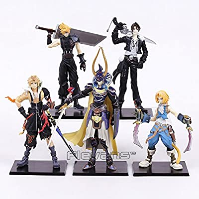 Amazon com: Final Fantasy 5pcs/set Cloud Strife Squall