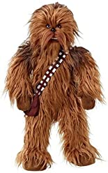 Star Wars 00825J 24-Inch Mega Poseable Chewbacca Talking Plush, 24 Inches