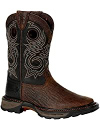 Lil Maverick XP Big Kid's Black Western Boot