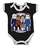 VIPwees Babygrow Slashers Horror Boys & Girls Baby Bodysuit