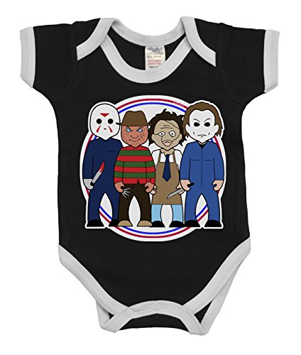 VIPwees Babygrow Slashers Horror Boys & Girls Baby Bodysuit