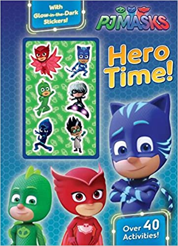 Amazon.com: Pj Masks Hero Time!: Over 40 Activities! With Glow-in-the-dark Stickers! (9781474899857): Parragon Books Ltd: Books
