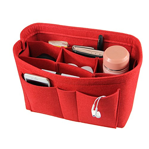 PROTECT AND ORGANIZE YOUR PURSE WITH THIS MULTIPOCKET HANDBAG ORGANIZER