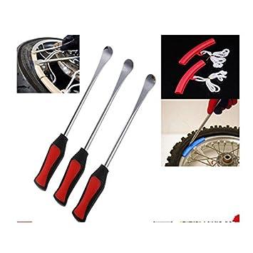 3× Reifenheber Fahrrad Reifen Reifenmontage Montagehebel Montierhebel Werkzeug