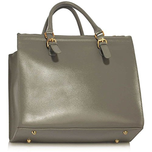 New College Xardi Ladies Bags Leather London Travel Women Style 2 Grey Large Style Work Handbags White Shoulder HvwSvq