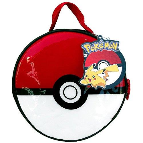 Pokemon Pokeball Lunch Kit 8.5 Inches Diameter x 3 Inches Height ()