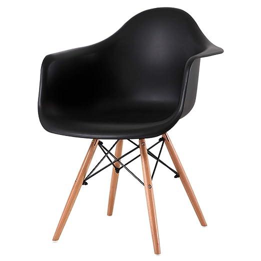Chair Silla de Comedor Home Leisure (40 * 40 * 83cm) PP ...