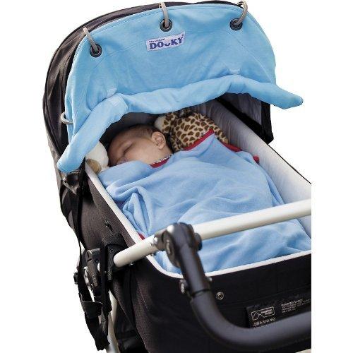 Dooky Sonnenschutz für Kinderwagen, Aqua