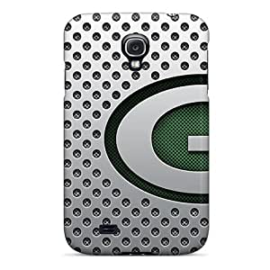 Shock Absorbent Hard Cell-phone Cases For Samsung Galaxy S4 With Custom Lifelike Green Bay Packers Pictures SherriFakhry
