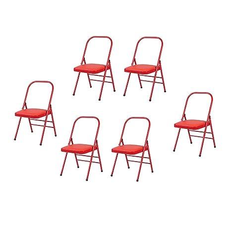 Stupendous Amazon Com Qaryyq Reinforced Double Beam Folding Chair Dailytribune Chair Design For Home Dailytribuneorg