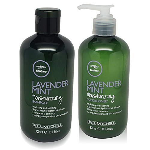 Paul Mitchell Lavender Mint Hydrating Shampoo and Conditioner Duo 10 oz by Unknown - Mint Peppermint Shampoo