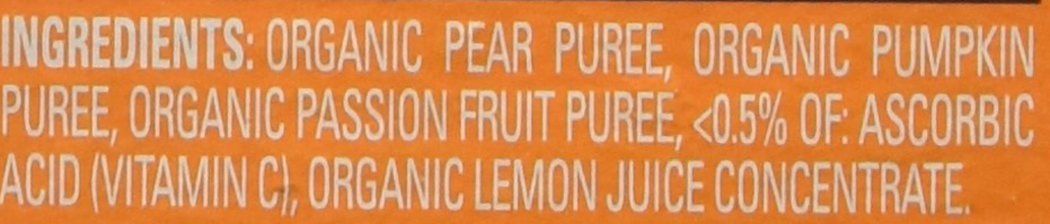 Happy Baby Stage 2 - Pears, Pumpkin & Passion Fruit - 4 oz, 8 ct by Happy Baby (Image #3)