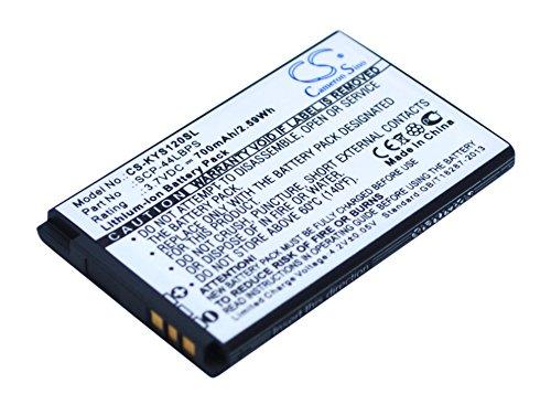 Replacement Battery for BOOSTMOBILE Coast Cricket Luno S2100 METROPCS Presto S1350 Sprint Brio S3015 Virgin Mobile S2100 Part NO 5AAXBT047GEA SCP-44LBPS TXBAT10188 (Mobile Phone Brio Virgin)