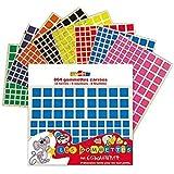 Gommettes « 864 carrés »