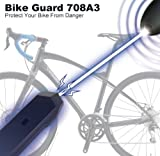 Radiowaves Two-ways Bicycle Steal Control Anti-Theft Alarm Audible Sound 708A3