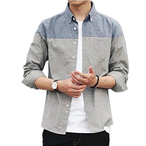 蒸留するブレース彼自身Infabe シャツ メンズ 半袖 長袖 夏  ネルシャツ カジュアル おしゃれ 大きいサイズ スリム シャツ