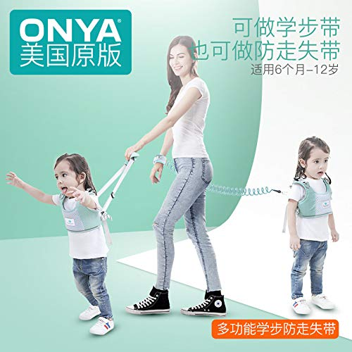 Toddler with Anti-Lost Rope Leash Popular Brands of Infant Learning to Walk Child Safety Anti-Lost Rope Bracelet Anti wandered Off