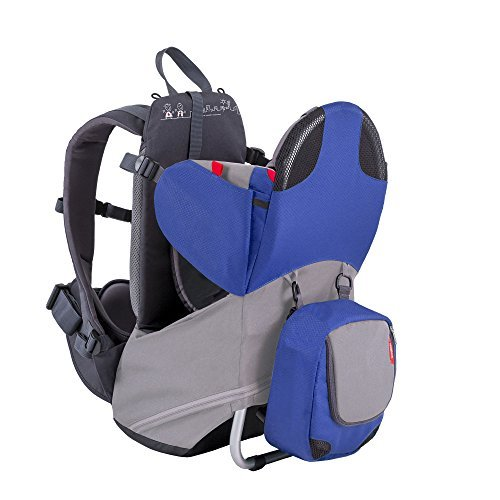 phil&teds Parade Lightweight Backpack Carrier, Blue/Grey by phil&teds (Image #7)