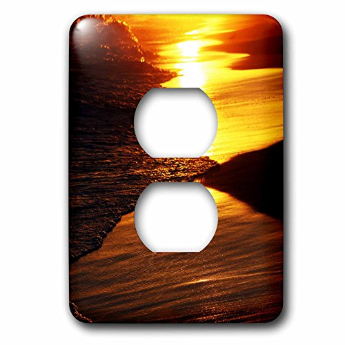 Sven Herkenrath Landscape - Sunset Mirage - Light Switch Covers - 2 plug outlet cover (lsp_233953_6)