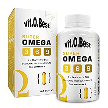 Vitobest Super Omega 3-6-9 1000 Mg - 120 gr: Amazon.es: Salud y cuidado personal