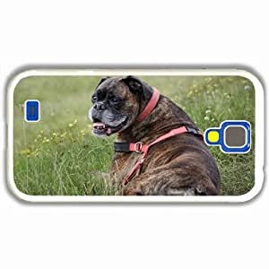 Customized Samsung Galaxy S4 S iv 9500 Hard Shell Cover Case Diy Personalized Designdog view friend White