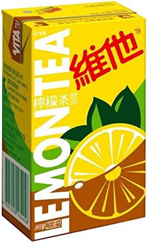 Vitasoy Vita Drink Lemon Tea, 8.45oz (Pack of 24)