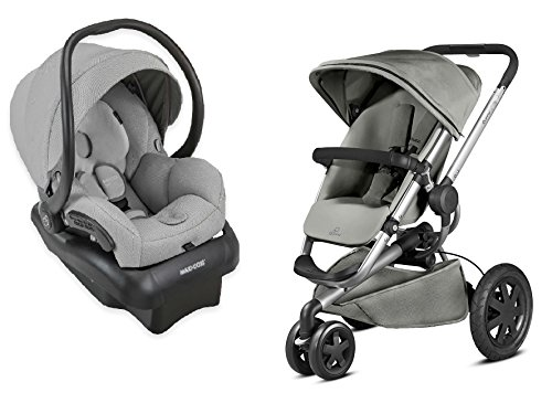 Quinny 2015 Buzz Xtra 2.0 Stroller with Maxi-Cosi Mico 30 Infant Car Seat, Grey by Quinny