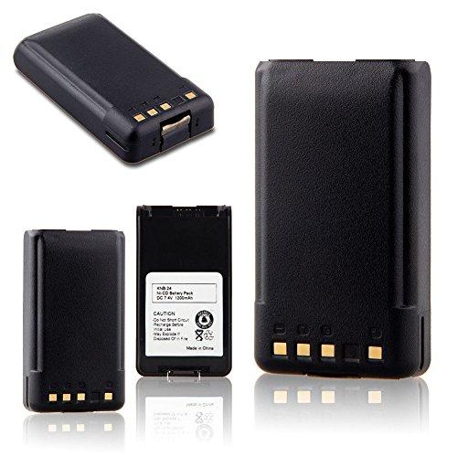 7.4V 1200mAh Ni-CD KNB-24L KNB-35L Battery for Kenwood TK2160 TK3160 TK2140 TK2170 TK3140 TK3170 -