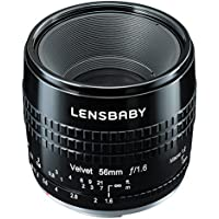 Lensbaby softlens Velvet 56 56mm F1.6 for Canon EF mount Black