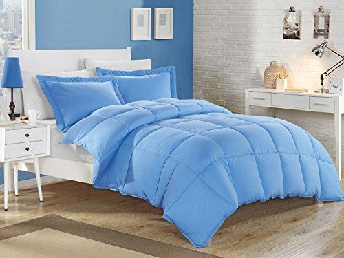 KingLinen Blue Down Alternative Comforter Set ()