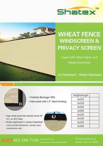 shatex-90-4x25ft-wheat-fence-privacy-screen-shade-fence-mesh-fabric-taped-with-metal-grommets-zip-ti