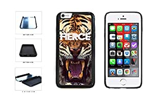 Fierce Tiger Roaring Dual Layer Phone Case Back Cover Apple iphone 4 4sInches)