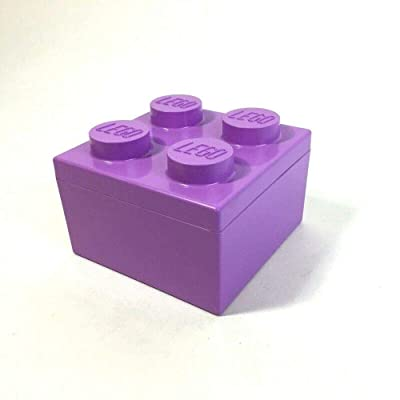 LEGO Purple Brick Storage Box: Toys & Games