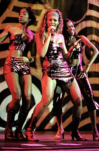 Posterazzi EVCPSDDECHKG002 Destiny'S Child, (L to R) Kelly Rowland, Beyonce Knowles, Michelle Williams, in Concert, Florida 9/00, by Kraig Geiger Photo Print, 8 x 10, Multi