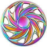 Fidget Spinner Jouet Round Fidget Hand Spinner Stress Reducer High Speed Ceramic Bearing Fidget Toy pour Adultes Enfant (A16)