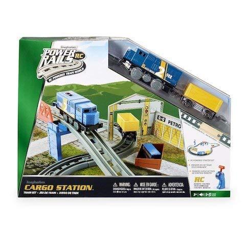 Imaginarium Power Rails Cargo Station Train Set