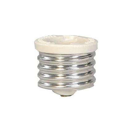 cooper wiring 332 box keyless lamp socket reducer mogul to medium rh amazon com Mogul Base Lamp Holder Mogul Base Lamp Holder